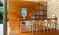 Indoor Dining Area - Eko Villa Bali - Seminyak, Bali