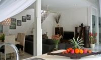 Living and Dining Area - Esha Drupadi I - Seminyak, Bali