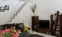 Living Area with TV - Esha Drupadi I - Seminyak, Bali