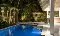 Pool at Night - Esha Drupadi I - Seminyak, Bali