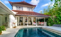 Pool Side Seating Area - Esha Drupadi II - Seminyak, Bali