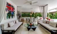 Living Area - Esha Drupadi II - Seminyak, Bali