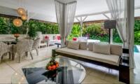 Living and Dining Area - Esha Drupadi II - Seminyak, Bali