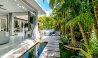 Outdoor View - Esha Drupadi II - Seminyak, Bali