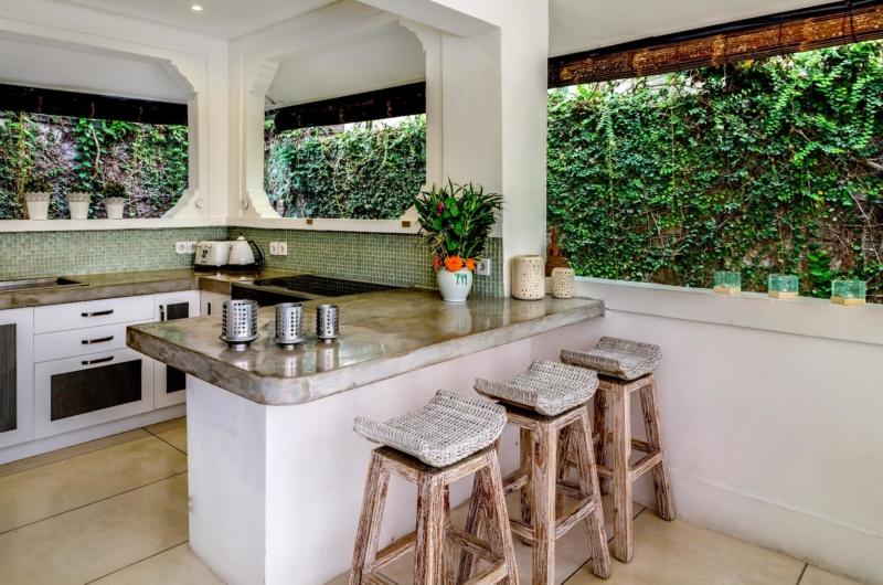 Kitchen Area - Esha Drupadi II - Seminyak, Bali