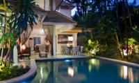 Swimming Pool at Night - Esha Seminyak - Seminyak, Bali