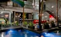 Pool at Night - Esha Seminyak 2 - Seminyak, Bali