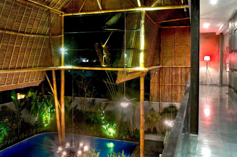 Corridor at Night - Esha Seminyak 2 - Seminyak, Bali