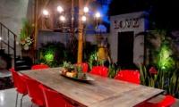 Dining with Fruits at Night - Esha Seminyak 2 - Seminyak, Bali