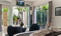 Bedroom with Outdoor View - Esha Seminyak - Seminyak, Bali