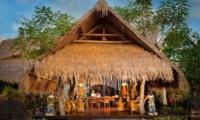 Outdoor Seating Area - Fivelements - Ubud, Bali