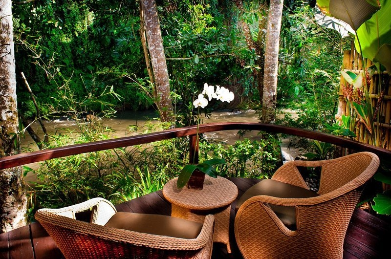 View from Balcony - Fivelements - Ubud, Bali
