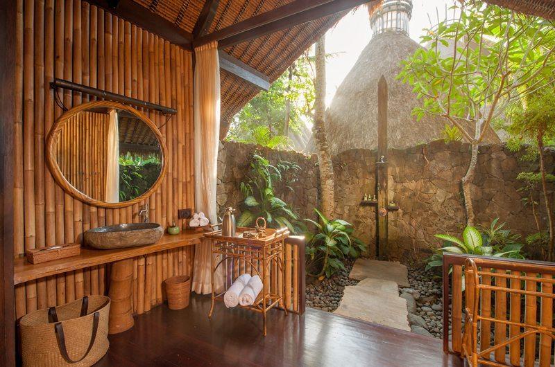 Semi Open Bathroom - Fivelements - Ubud, Bali