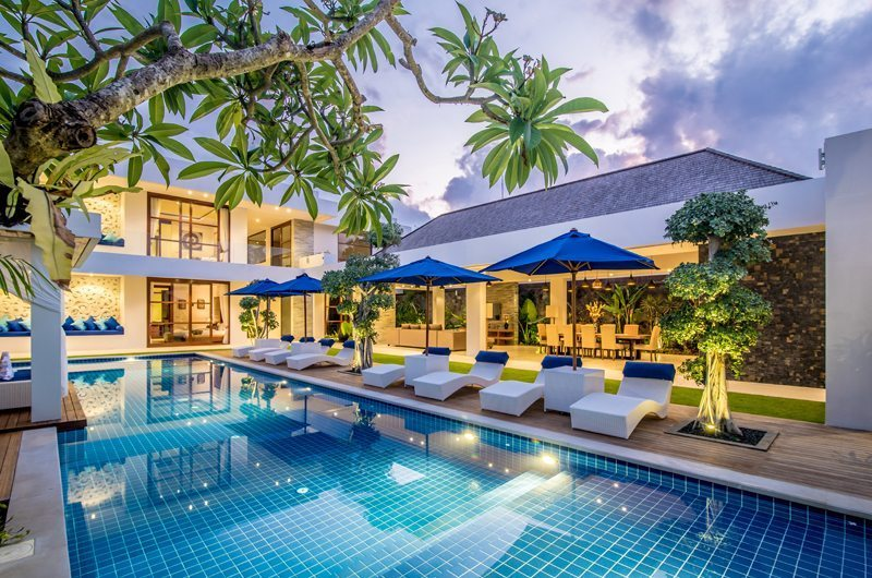 Freedom Villa 5 Bedrooms Sleeps 10 Pool Seminyak Bali