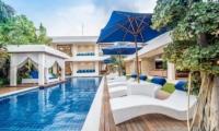 Pool Side - Freedom Villa - Seminyak, Bali