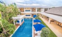 Garden and Pool - Freedom Villa - Seminyak, Bali