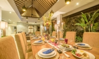 Dining Area - Freedom Villa - Seminyak, Bali