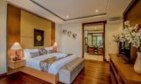 Bedroom with Wooden Floor - Freedom Villa - Seminyak, Bali