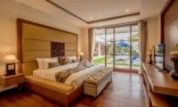 Bedroom with TV - Freedom Villa - Seminyak, Bali