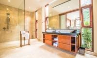 His and Hers Bathroom - Freedom Villa - Seminyak, Bali