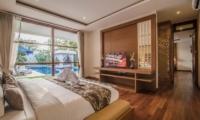 Bedroom with Pool View - Freedom Villa - Seminyak, Bali
