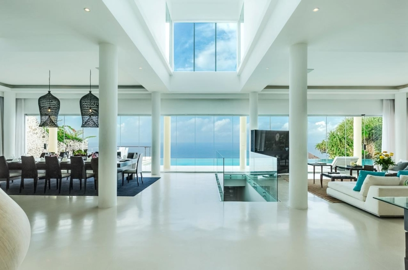 Living and Dining Area - Grand Cliff Ungasan - Uluwatu, Bali