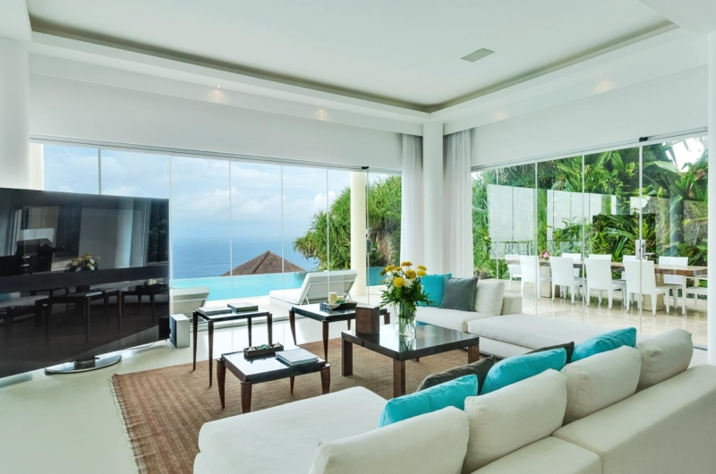 Lounge Area with TV - Grand Cliff Ungasan - Uluwatu, Bali