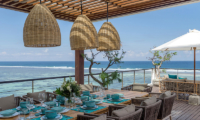 Dining Area with Sea View - Grand Cliff Nusa Dua - Nusa Dua, Bali