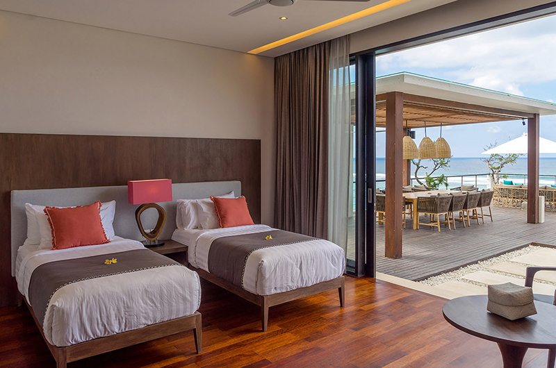 Twin Bedroom - Grand Cliff Nusa Dua - Nusa Dua, Bali