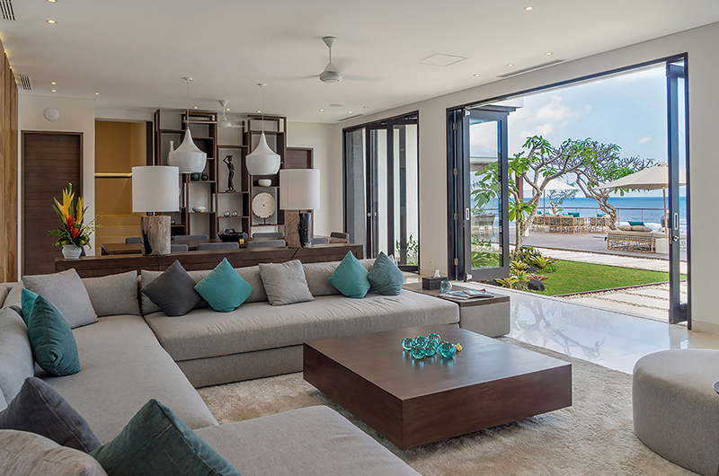 Living Area with Sea View - Grand Cliff Nusa Dua - Nusa Dua, Bali