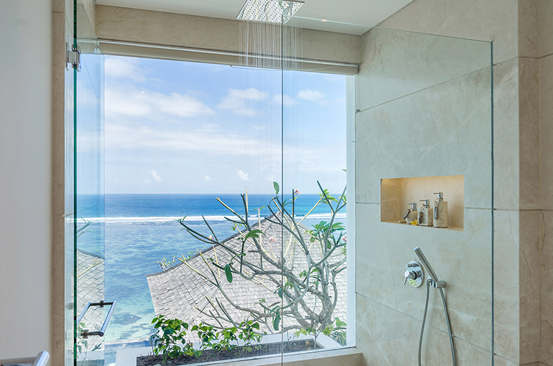 Bathroom with Shower - Grand Cliff Nusa Dua - Nusa Dua, Bali