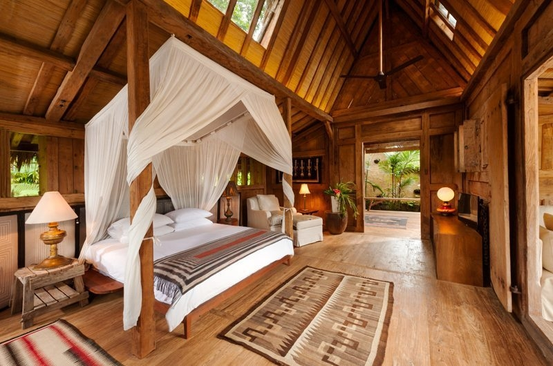 Bedroom with Wooden Floor - Hartland Estate - Ubud, Bali