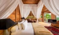 Bedroom with TV - Hartland Estate - Ubud, Bali