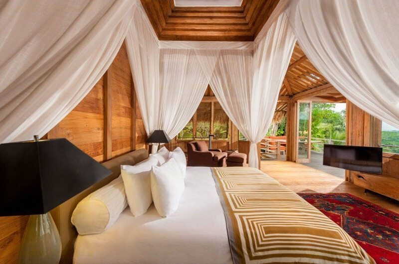 Bedroom with TV - Hartland Estate - Ubud, Bali