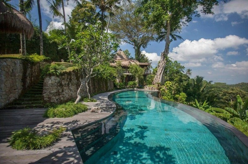 Gardens and Pool - Hartland Estate - Ubud, Bali