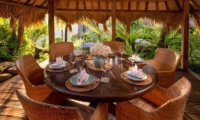 Outdoor Dining - Hartland Estate - Ubud, Bali