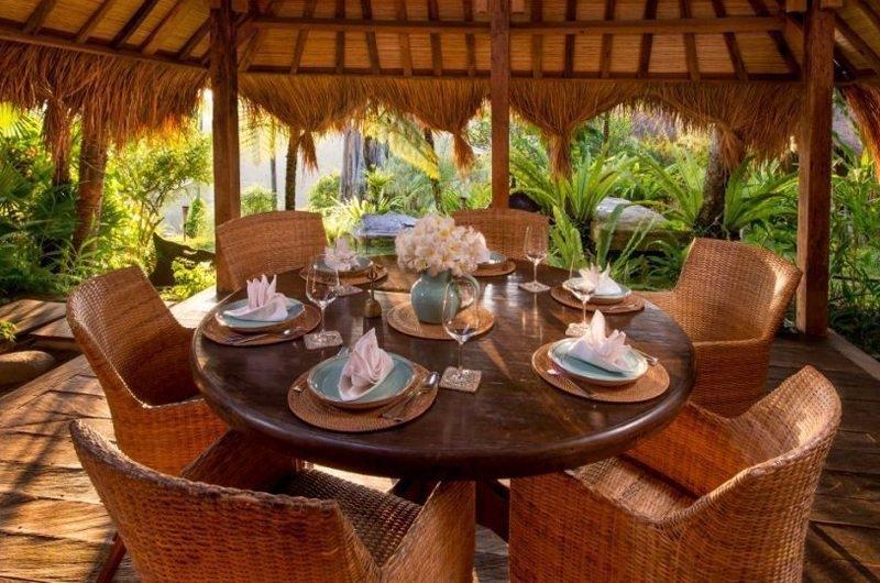Outdoor Dining - Hartland Estate - Ubud, Bali