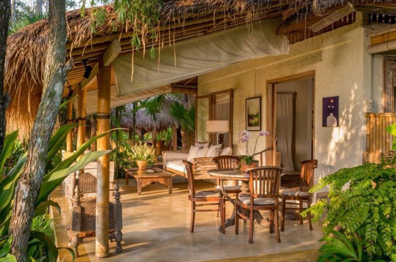 Outdoor Living and Dining Area - Hartland Estate - Ubud, Bali
