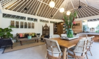 Living and Dining Area - Hidden Villa Bali - Canggu, Bali