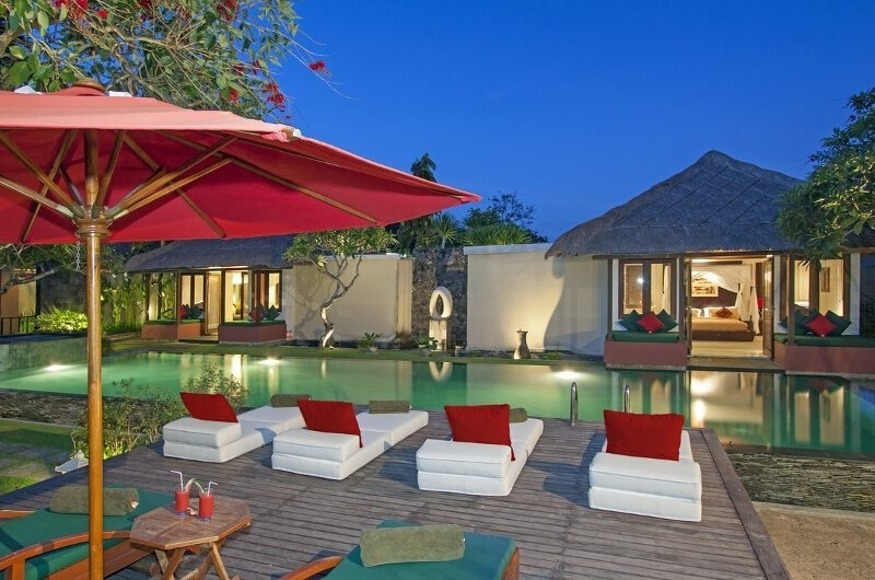 Pool Side - Imani Villas Mahesa - Umalas, Bali