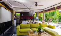 Living and Dining Area - Imani Villas Mahesa - Umalas, Bali
