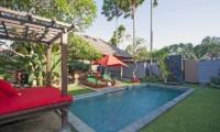 Reclining Sun Loungers - Imani Villas Malika - Umalas, Bali