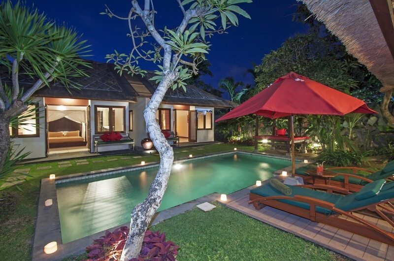Gardens and Pool - Imani Villas Malika - Umalas, Bali