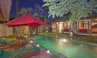 Pool Side - Imani Villas Malika - Umalas, Bali