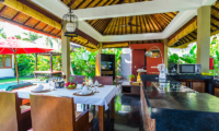 Kitchen and Dining Area - Imani Villas Malika - Umalas, Bali