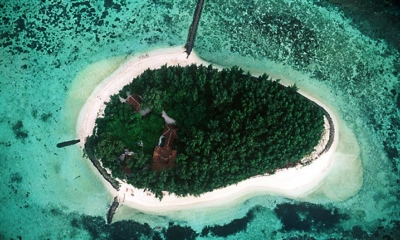 Bird's Eye View - Isle East Indies - Thousand Islands, Indonesia