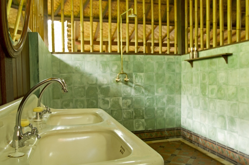 His and Hers Bathroom - Isle East Indies - Thousand Islands, Indonesia