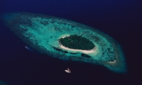 Island View from Top - Isle East Indies - Thousand Islands, Indonesia