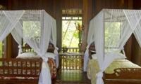 Twin Bedroom - Isle East Indies - Thousand Islands, Indonesia