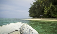 Beach View from Sea - Isle East Indies - Thousand Islands, Indonesia